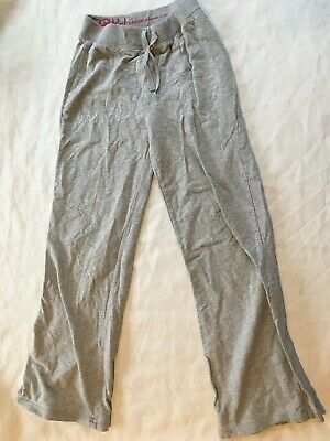 Girls grey gray sports joggers size UK 11-12 years 152cm y.d tm cotton trousers