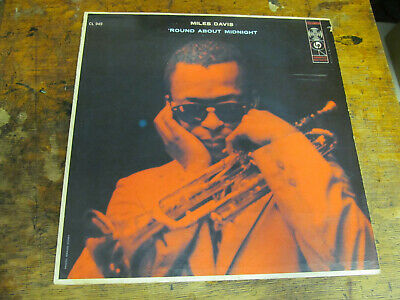 MILES DAVIS Round About Midnight LP COULUMBIA CL 949 6 eye mono VG+ strong!