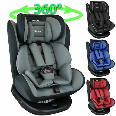 Isofix car child seat 0-36kg group 0+1+2+3 ECE car seat 360°rotating mor.colours