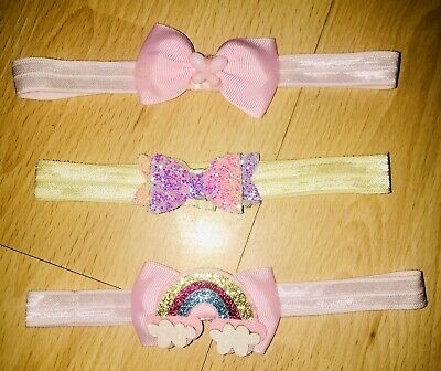Set Of Baby Girl Headbands
