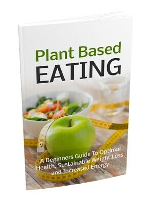 Plant Based Eating PDF Nutrition Ebook on CD with FREE bonus