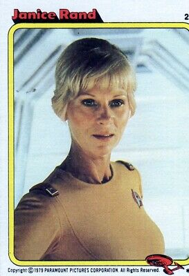 1979 Topps Star Trek: The Motion Picture Janice Rand #20
