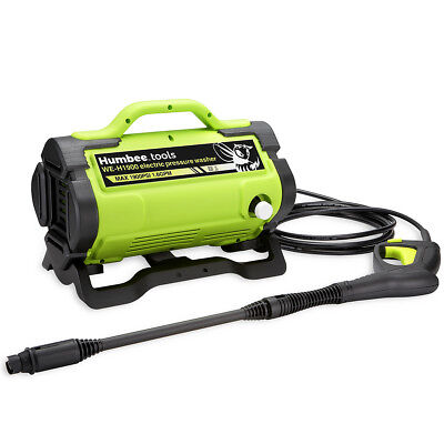 HUMBEE Tools Portable Electric Pressure Washer 1,900 PSI EPA and CARB