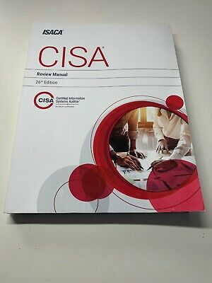 CISA REVIEW MANUAL, 26TH EDITION By Isaca **Mint Condition**