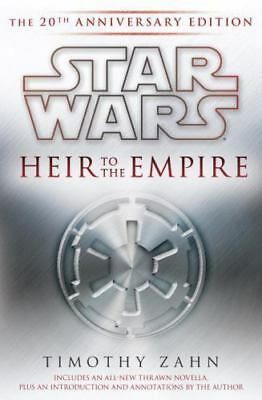 Star Wars the Thrawn Trilogy - Legends: Heir to the Empire by Timothy Zahn...