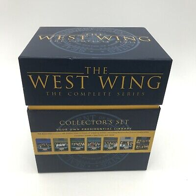 THE WEST WING DVD Collection Series  1-7 Bonus Features Rated 15 Boxed 461606