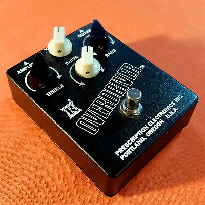 Prescription Electronics RX Overdriver Power Boost Pedal