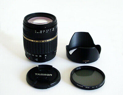 Tamron AF Aspherical  XR Di-ll 18-200mm f/3.5-6.3 Macro Lens For Canon