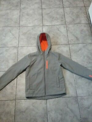 Boys Orange And Grey Bench Jacket Age 9-10