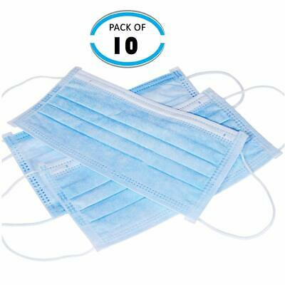 10 X Flu Virus Medical Face Mask Metal Adjustable Strip Surgical Quality