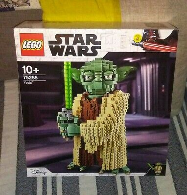 75255 LEGO Star Wars Yoda large figure set bnib