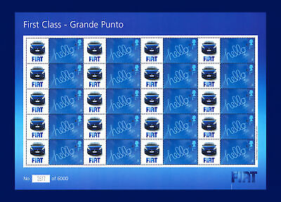 2006 BC-096 20x1st First Class - Grand Punto Smiler Sheet Unmounted Mint bbvr