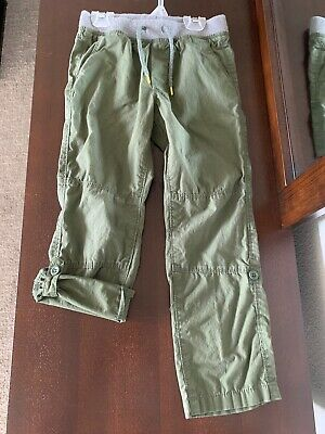 Old Navy Roll-up Pants 5T Army Green