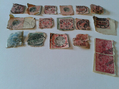 Antique Stamps Job Lot Various Countries Not USA or British Late 19th Early 20th