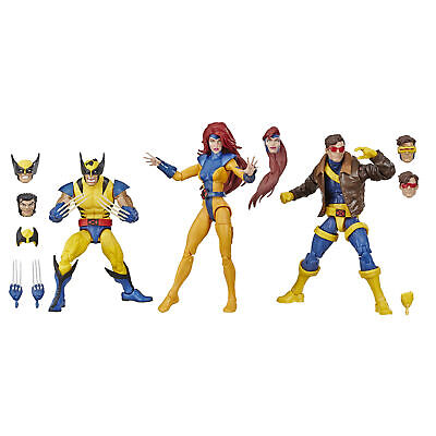 Hasbro Marvel Legends Series 6-inch Collectible Action Figures 3-Pack X-Men Toys