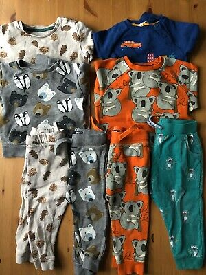 Boys Bundle of Tracksuits Sweatshirts/Joggers Next/John Lewis/M&S Age 1.5-2 Year