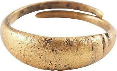 ANCIENT VIKING MAN'S RING, 9th-10th CENTURY AD SIZE 9