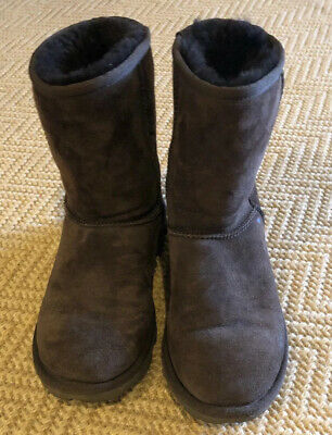 Ugg Boots Size 6 Kids Brown