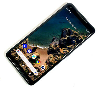 Google Pixel 2 XL 64GB Just Black Unlocked Sim Free POOR CONDITION 668