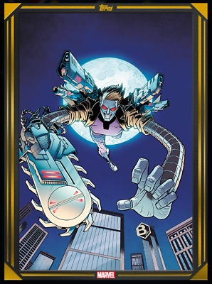 FEB 19 COMIC BOOK DAY GOLD 2020 MACHINE MAN #1 Topps Marvel Collect Digital Card
