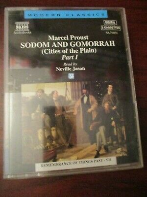 Sodom and Gomorrah Marcel Proust Audio Cassette Tapes Part 1