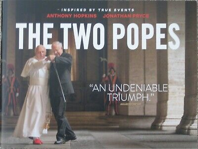 The Two Popes 2019 Official Promo Fyc For Consideration 28-Page Booklet Netflix