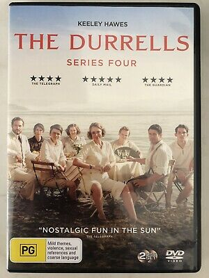 The Durrells Season 4 Series Four Fourth Keeley Hawes Region 4 DVD In Corfu