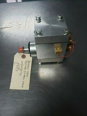 Hartridge  2500 Test Bench Pressure Control Valve