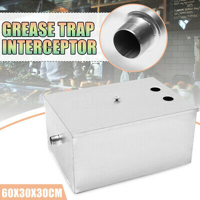 Stainless Steel Grease Trap Interceptor Restaurant Kitchen Wastewater