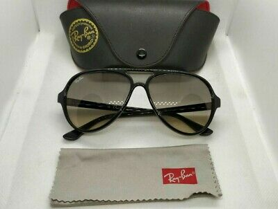 Ray ban rb4125 CATS 5000 601/32  black frames grey gradient  lenses sunglasses