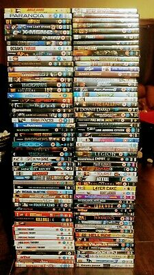100+ DVDs JOBLOT BUNDLE CARBOOT, random mix, large variety