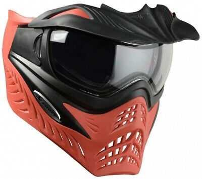 Vforce Parrilla Paintball Thermal Máscara Azure Gris Rojo