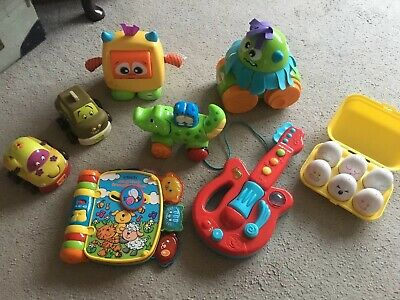 Bundle Of Toddler / Baby Toys Tomy Eggs,  Vtech, Fisher Price  Excellent Cond