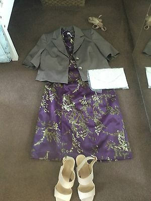Bnwt Ladies Kaleiscope Mother Bride /Cruise/Races Outfit Size 14&16