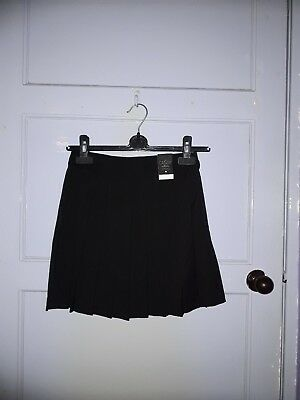 Girls Matalan Candy Couture School Skirt Black Age 12 Years Nwt