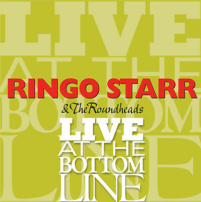 Ringo Starr, Live At The Bottom Line, Cd, Rare, Collectible, Beatles