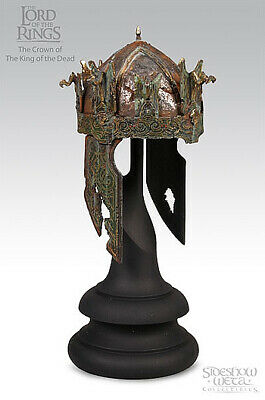 1/4 Sideshow Weta Lord of the Rings Crown of the King of the Dead LOTR Helmet