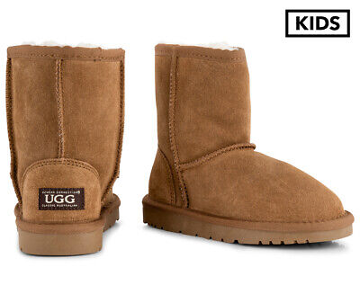 OZWEAR Connection Kids' Ugg Boots - Chestnut	NO725
