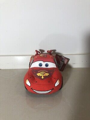 Disney Pixar Cars 2 Lightning McQueen Plush Toy red