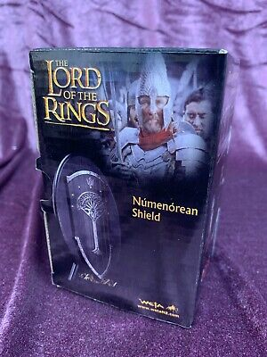 "Weta LOTR The Lord of The Rings : The Hobbit : NUMENOREAN SHIELD ""Metal Pin"" NEW"