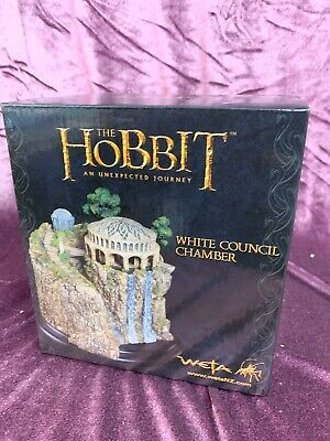 """5"""" Weta LOTR : The Lord of The Rings : The Hobbit : WHITE COUNCIL CHAMBER Statue"""