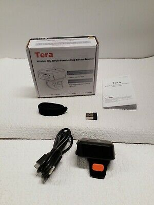 Tera Wireless Barcode Scanner Compatible with Bluetooth, 1 MP Scanning...