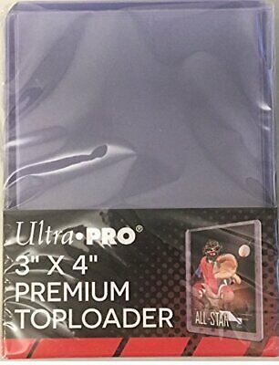 Ultra Pro Premium 3x4 Toploaders New top loaders