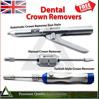 Dental Orthodontic Crowns Bridges Removing Surgical Crown Removal Instruments