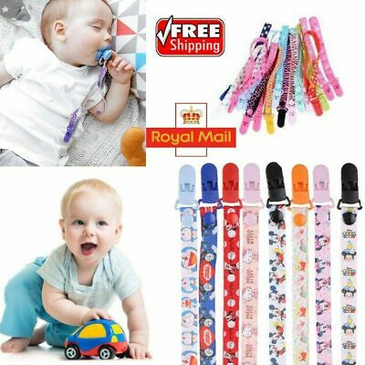 Baby Dummy Clip Soother Clips Teething Baby Teether Chain Holder Pacifier Strap