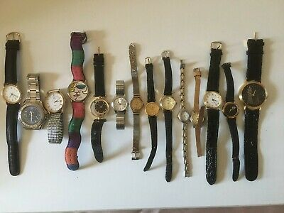 Job Lot of 14 ladies and gents watches