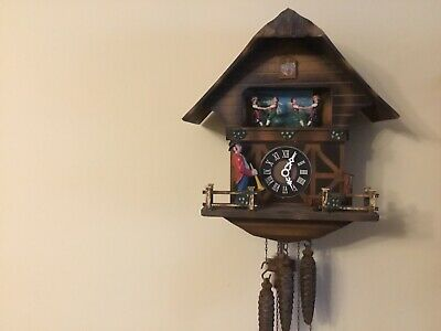 Rare Three Weight Cuckoo Clock
