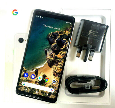 Google Pixel 2 XL 128GB Black White Unlocked Sim Free GOOD GRADE B/C 573