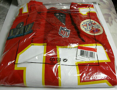 Kansas City Chiefs NFL Patrick Mahomes Nike Super Bowl LIV Game Jersey, Official