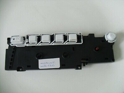 Hotpoint WDL520 Washer Dryer Front Fascia Control Panel PCB Module